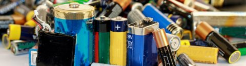 Alte Batterien