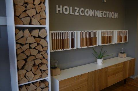 Ein Einblick in das Geschäft mit den verschiedenen Holztönen