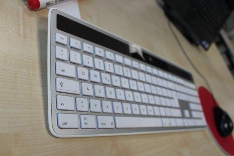 Computertastatur und Maus