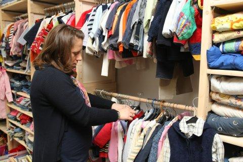Kinderbekleidung im Geschaeft Klamoettchen 2