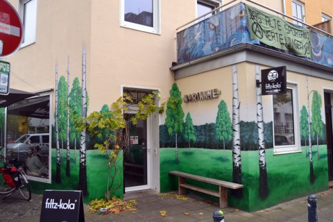Marianne Café im Viertel Außenansicht