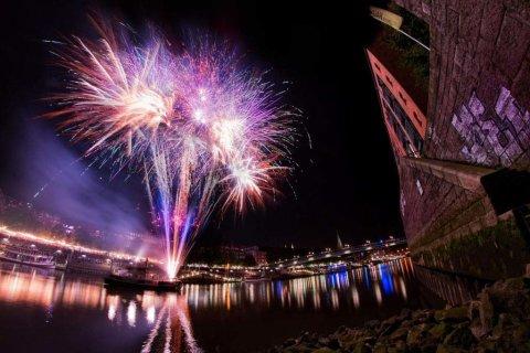 Feuerwerk Maritime Woche