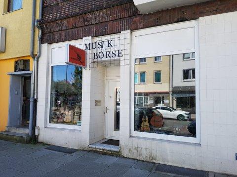 Die Musikbörse in Bremen von außen