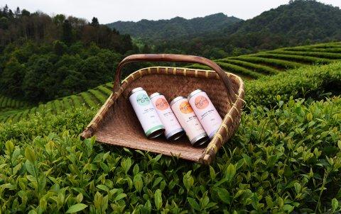 Die Produkte von my Cup Of Tea in einer fernöstlichen Teeplantage.