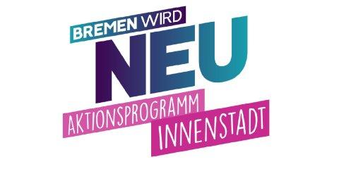 Ein Logo zum Aktionsprogramm Innenstadt