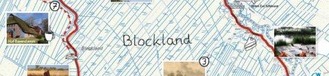 Ausschnitt einer Karte des Blocklands
