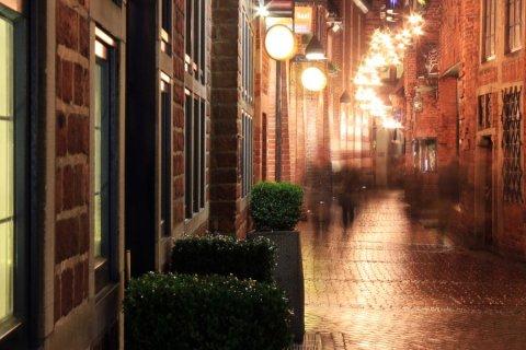 Böttcherstraße zur Weihnachtszeit