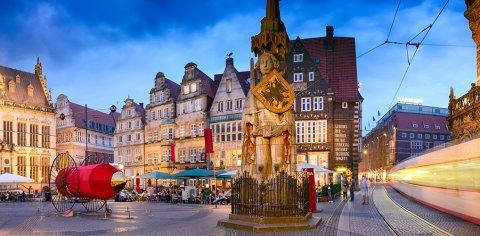 Roland auf dem Bremer Marktplatz