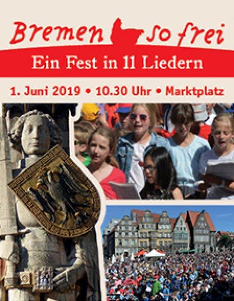 Bremen so frei Fest in 11 Liedern