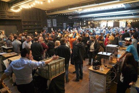 Bremer Craft Bier Tage in der Union Brauerei