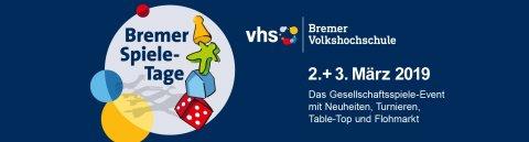 Plakat der Bremer Spieletage