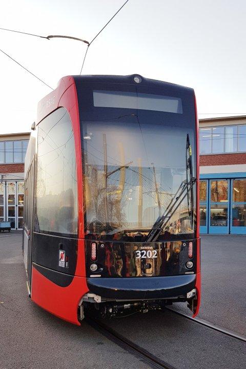 Der Fahrstand der neuen Straßenbahn