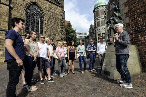 Stadtführung durch Bremen zu ihren bekanntesten Sehenswürdigkeiten.