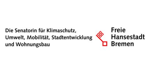 Logo der Senatorin für Klimaschutz, Umwelt, Mobilität, Stadtentwicklung und Wohnungsbau