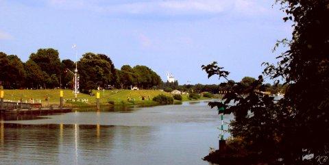 Weserpromenade am Osterdeich