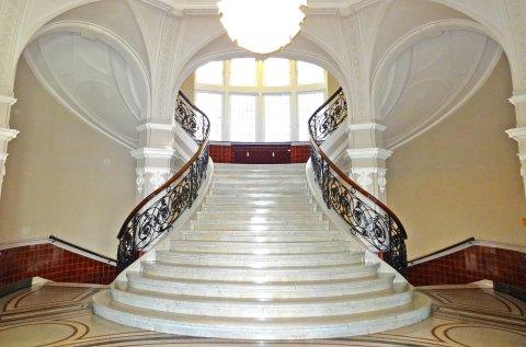 Treppenhaus der Bremer Baumwollbörse