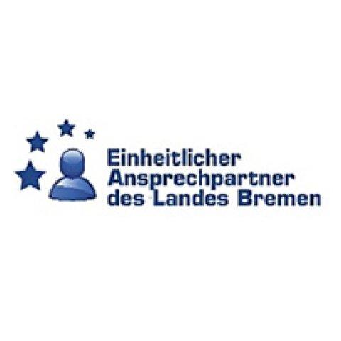 Logo mit Schriftzug: Einheitlicher Ansprechpartner des Landes Bremen