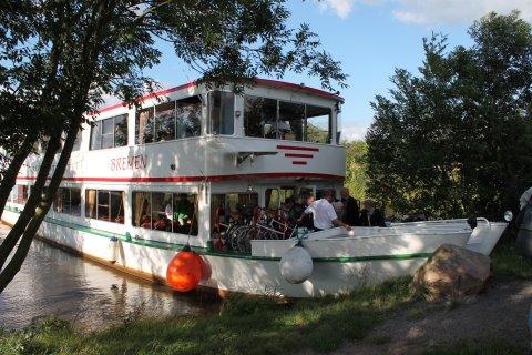 Schiff der Flotte Weser