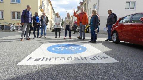 FMQ Fahrrad Modell Quartier Eröffnung