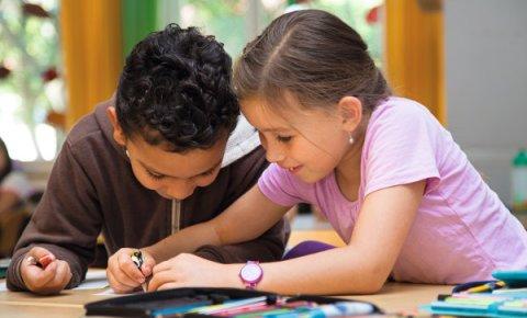 Gute Bildung und gemeinsames Lernen von Anfang an.