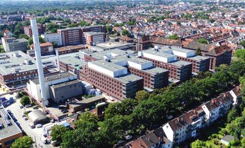 Der Neubau am Klinikum Bremen-Mitte.