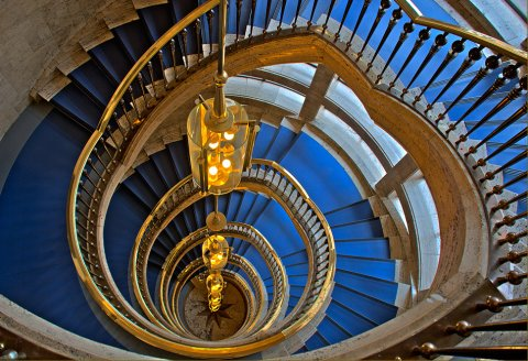 Treppenhaus im Haus des Reichs
