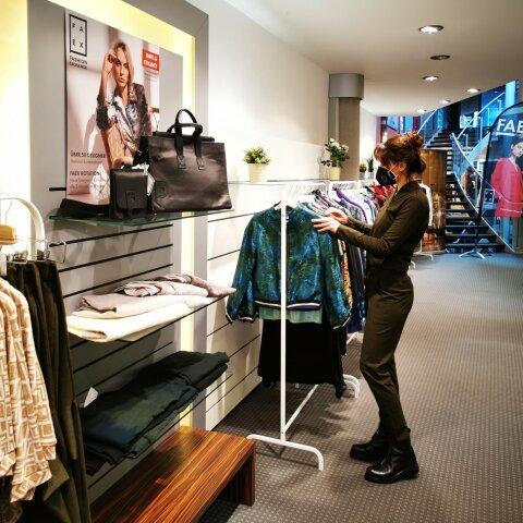 Eröffnung Pop-up-Store FAEX in der Bremer Innenstadt