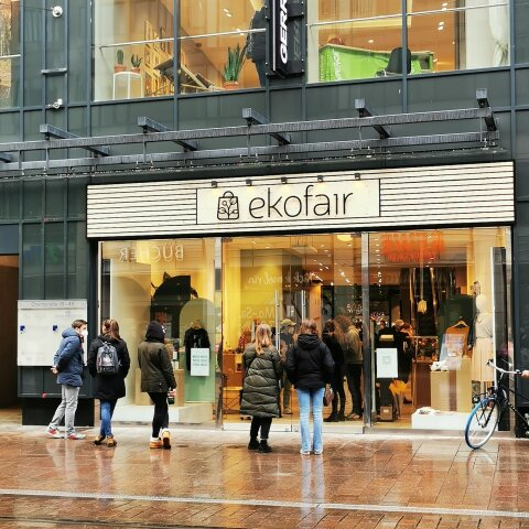 Eröffnung des Concept-Stores ekofair in der Bremer Innenstadt