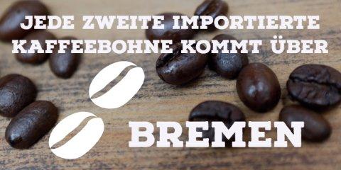 Kaffeefakt: Jede zweite Bohne wird über Bremen importiert