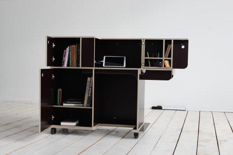 Ein kreativer Arbeitstisch von Weserholz.