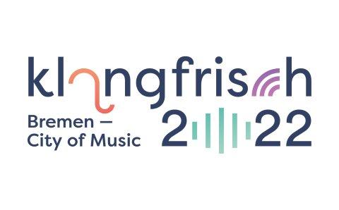 """logo of """"klangfrisch 2021"""""""