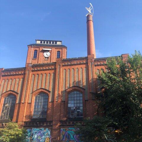 Kulturzentrum Schlachthof: Außenansicht des Gebäudes