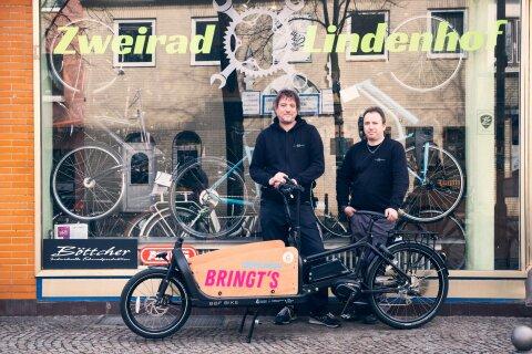 Lastenrad Verleih Gröpelingen - Zweirad Lindenhof