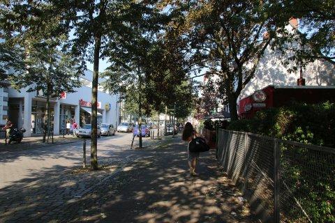 Blick in die Lindenhofstraße (Quelle: WFB/bremen.online).