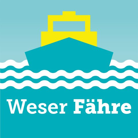 Logo der Weser Fähre