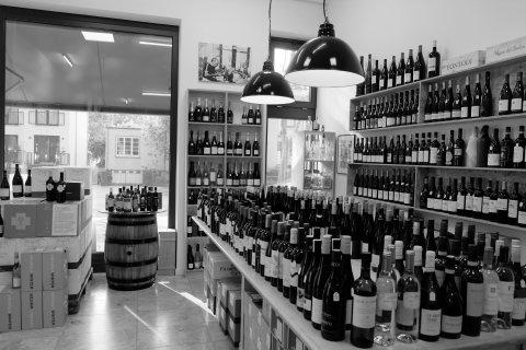 Ladenfläche Lowin Weinhandel