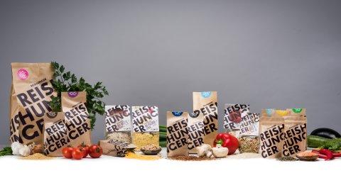 Produktauswahl von Reishunger.