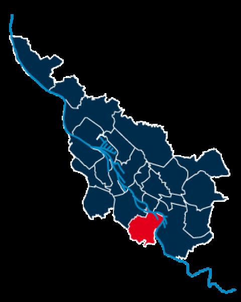 Stadtteilpolygon von Obervieland