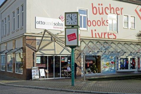 Außenansicht Buchhandlung Otto & Sohn in Vegesack