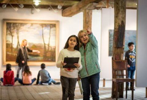 Kinderprogramm im Overbeck-Museum