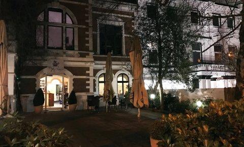 Eingang vom Restaurant Papageno