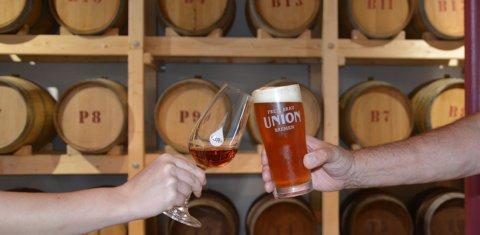 Führung Bier und Whiskey