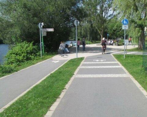 Premiumrouten Radverkehr Machbarkeitsstudie SKUMS 2017 - Ruhrtalradweg bei Herdecke