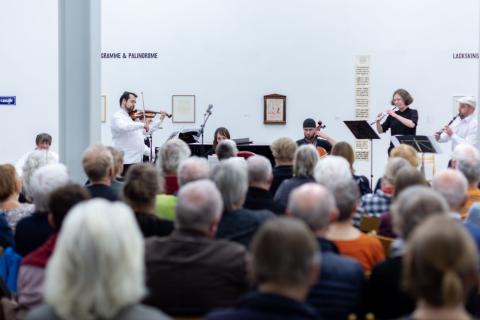 Ein Konzert bei dem Deutsch-tschechischen Kulturfestival.