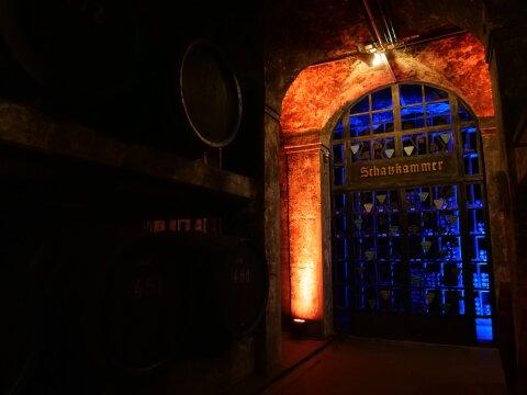 Das Tor zur Schatzkammer im Bremer Ratskeller