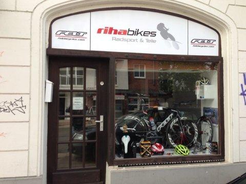 Riha Bikes; Außenansicht