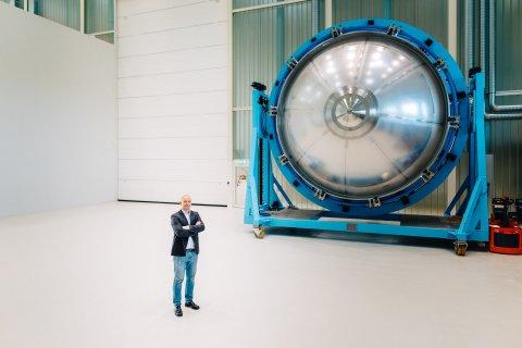 Produktionshalle von MT Aerospace in Bremen