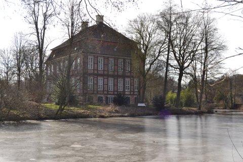 Schloss Schönebeck in Winter