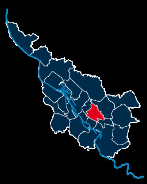 Stadtteilpolygon von Schwachhausen