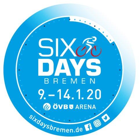 Das Sixdays Logo für 2020.